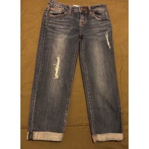 Girls Hudson Distressed Jeans